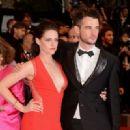 Kristen Stewart & Tom Sturridge at Rob's Cosmopolis Premiere