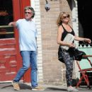 Goldie Hawn and Kurt Russell spotted at Lil Dom's in Silver Lake Saturday October 15, 2016 - 454 x 444
