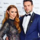 Ben Foden and Una Healy  -  Publicity - 454 x 302