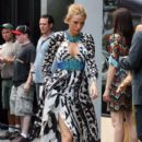 Blake Lively in the Meat Packing District