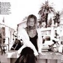 Claudia Schiffer - Vogue Magazine Pictorial [France] (August 1993)
