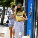 Madison Beer – shows off her midriff during on Melrose Avenue in West Hollywood