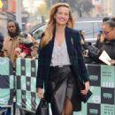 Petra Němcová – Arrives at AOL build Show in New York City - 454 x 750