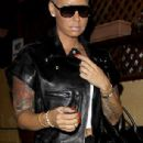 Amber Rose Attends Slash's Record Release Party at The Roxy theater in Los Angeles, California - September 25, 2014 - 306 x 881