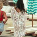 Nicole Scherzinger – On a photoshoot on the beach in Mykonos - 454 x 681