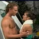 Paige Turco and Ian Ziering