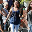 Megan Fox's Sisterly Cafe Afternoon - 454 x 726
