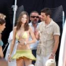 David Guillo and Adriana Lima