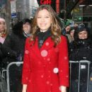 Jessica Biel - ABC Studios In New York City, 10 February 2010