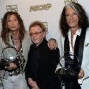 Steven Tyler & Joe Perry attend the ASCAP Press Conference at Sunset Marquis Hotel and Villas on April 8, 2013 in West Hollywood, CA - 454 x 314