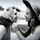 Rosemary Lane and Priscilla Lane, her sister