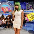 Nicki Minaj Appears on BET's 106 & Park at BET Studios in New York City - March 31, 2010