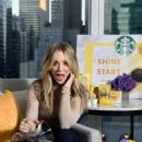 Kaley Cuoco – Starbucks 'Shine from the Start' Spring Campaign in NYC
