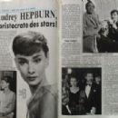 Audrey Hepburn - Cine Tele Revue Magazine Pictorial [France] (12 July 1990) - 454 x 302