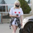 Ariel Winter – Spotted at a laser removal salon in Studio City
