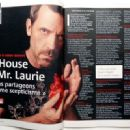 Hugh Laurie - TV Magazine Pictorial [France] (4 April 2009) - 454 x 330