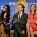 Jessica Alba: during the 70th Annual Golden Globes Awards Nominations at the Beverly Hilton Hotel