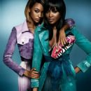 Naomi Campbell & Jourdan Dunn for Burberry Spring/Summer 2015 ad campaign