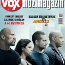 Vin Diesel, Paul Walker, Michelle Rodriguez, Dwayne Johnson - Vox Magazine Cover [Hungary] (April 2015)