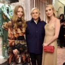Amanda Seyfried and Emma Roberts at Fendi celebrates Baguette in NYC