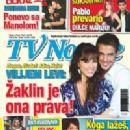 William Levy - TV Novele Magazine Cover [Serbia] (June 2009)
