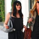 Selma Blair Catches Up With A Gal Pal