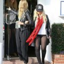 Pantsless Christina Aguilera Shops at Lingerie Store