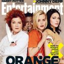 Kate Mulgrew, Uzo Aduba, Taylor Schilling, Laura Prepon - Entertainment Weekly Magazine Cover [United States] (2 May 2014)