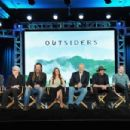 "Ryan Hurst speaks onstage during the WGN America Winter 2016 TCA Panel for ""Outsiders"" at The Langham Huntington Hotel and Spa on January 8, 2016 in Pasadena, California"