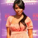Lauren London arrives at the 2007 BET Awards held at the Shrine Auditorium on June 26, 2007 in Los Angeles, California