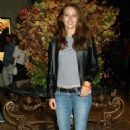 """Amy Acker - The KTLA-5 And WB Host Wednesday Season Premiere Party For """"Angel"""" And """"Smallville"""" At The Grove In Los Angeles, CA. 2003-10-01"""