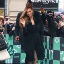 Tyra Banks – Arrives at AOL Build Studios in New York City - 454 x 681