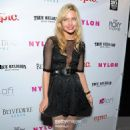 Daveigh Chase at the NYLON Magazine June/July Music Issue Launch Party With Shirley Manson at The Roxy Theatre on May 30, 2012 in West Hollywood, California