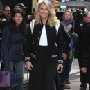 Christie Brinkley – Leaving 'Good Morning America' in New York - 454 x 707