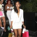 Karrueche Tran Leaving Her Birthday Party At Stk In West Hollywood