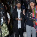Tyga made his way through Sydney airport, being mobbed by fans ahead of his tour stop in Sydney, Australia on April 9, 2016