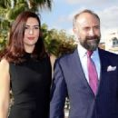 Bergüzar Korel  & Halit Ergenç : 'Vatanim Sensin' press conference in Cannes - 454 x 325