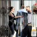 Mandy Moore in Tights – Picks up her dry cleaning in LA - 454 x 570