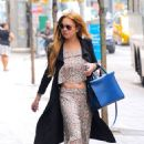 Lindsay Lohan Leaving Her Hotel In New York City
