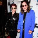"""Sharon Osbourne, Ozzy Osbourne attend an VIP Opening Reception For """"Dis-Ease"""" An Evening Of Fine Art With Billy Morrison at Mouche Gallery on September 2, 2015 in Beverly Hills, California."""
