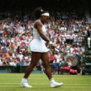 Serena Williams Wimbledon Lawn Tennis Championships In London Quarterfinal
