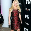 Jessica Simpson Shows Off Cleavage and Slim Body on Red Carpet in NYC