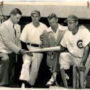 Johnny Lujack, Dutch Leonard,  George Mcfee &  Phil Cavarreta