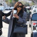 Naya Rivera is spotted filming a unknown show in West Hollywood, California on January 24, 2017 - 454 x 591