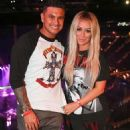 Paul 'Pauly D' DelVecchio and Aubrey O'Day