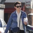 Ginnifer Goodwin out in Los Angeles