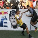 Neymar Takes Part in a Five-a-Side Football Match in Sao Paulo - 454 x 298