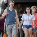 Ariel Winter in Cut-offs out in Studio City