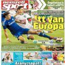 Nemzeti Sport - Nemzeti Sport Magazine Cover [Hungary] (11 August 2014)