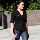 "Taylor Cole - On The Set Of ""The Event"" - 24.09.2010"